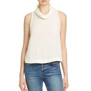 NWT Free People Ivory Backless Top Medium